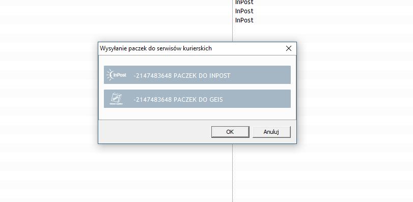 201fcde320bf9f 1.31 nie wysyła paczek do Inpostu - Pomocna dłoń - Forum ...