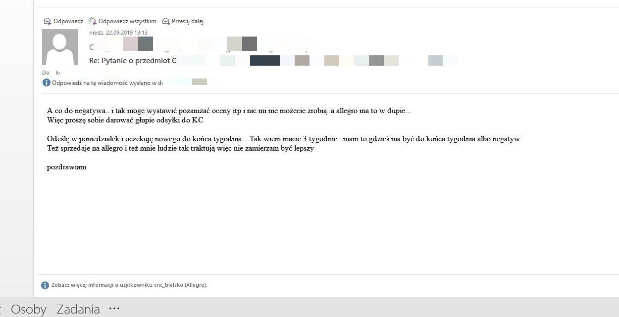 Allegro Blokuje Po 10 Latach Wspolpracy Konto Dyskusje Forum Insert